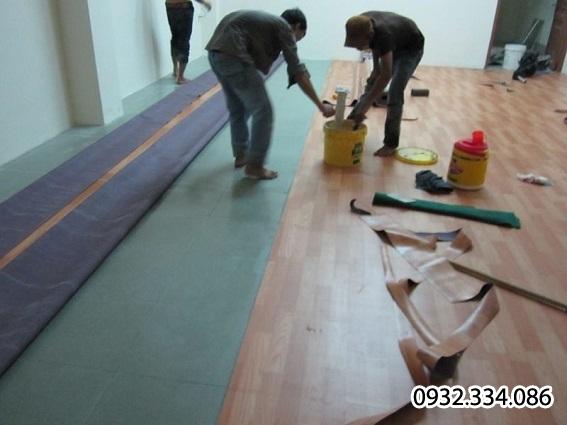 thảm trải sàn pvc-simili